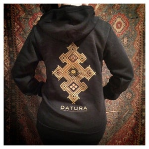 "Image of ""Datura Henna"" Fleece Hoody"