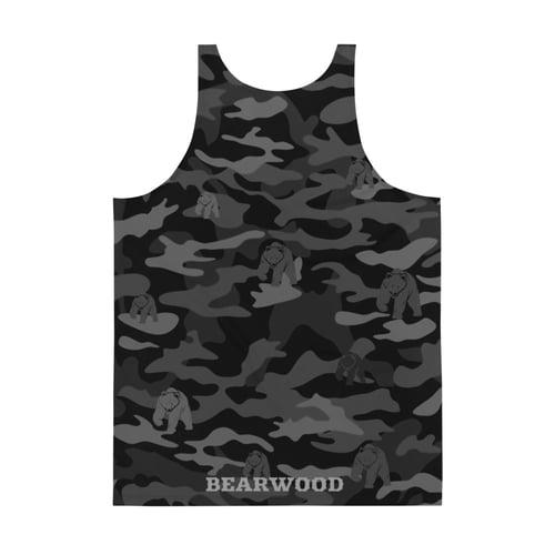 Image of Black Camo Tank Top