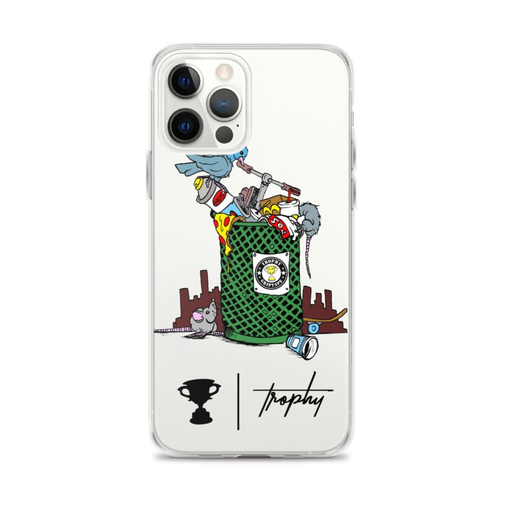 "Image of Trophy ""Trashed"" iPhone Case"
