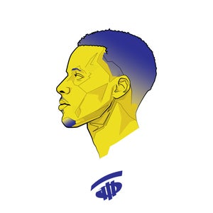 Image of Steph Curry Art Print