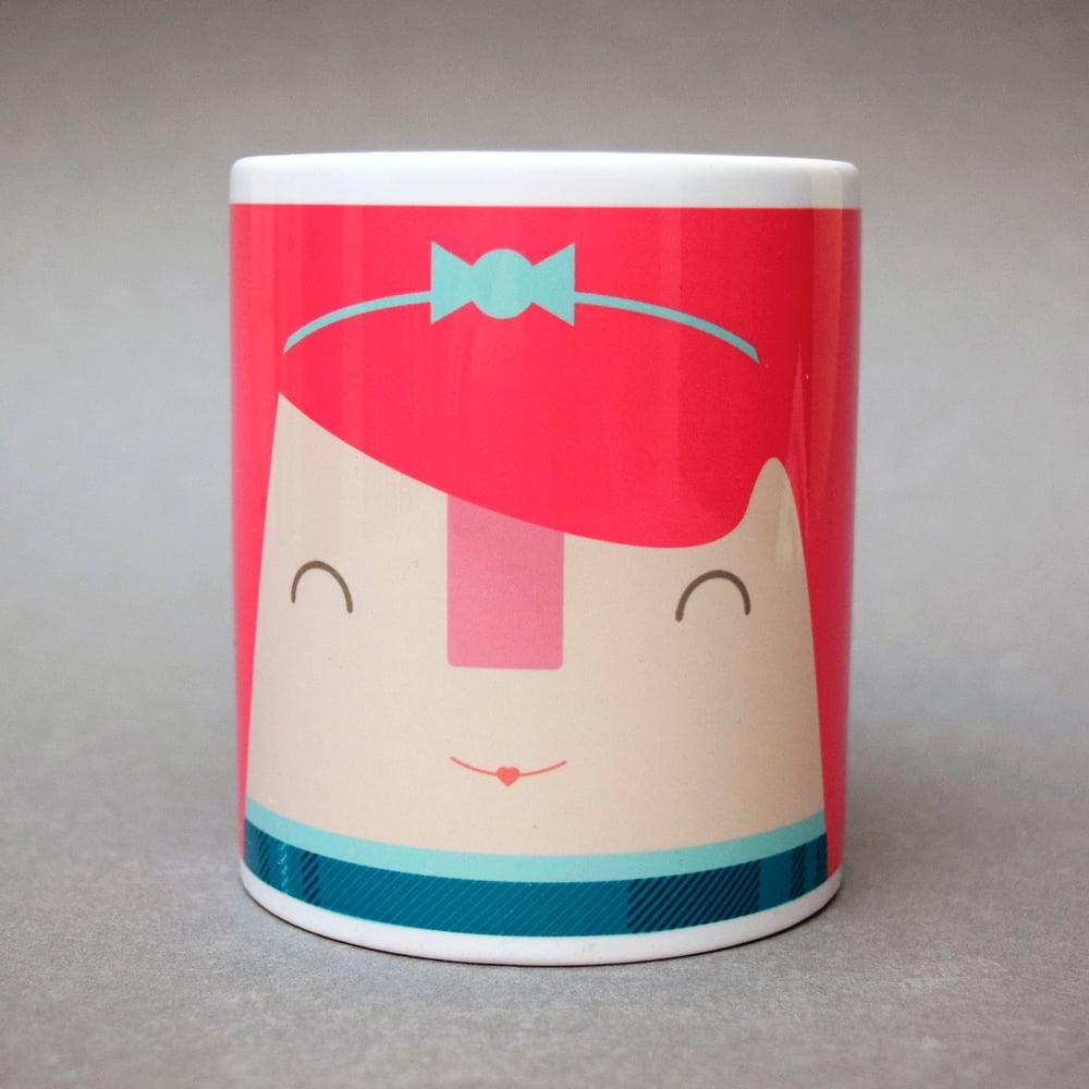 Image of Bonnie wee Scotswoman (Mug)