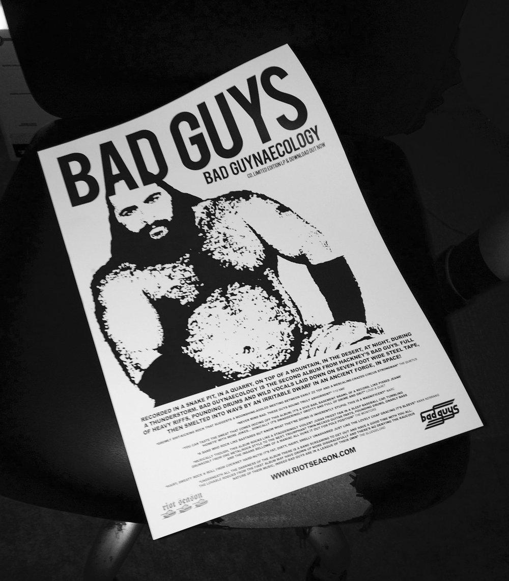 BAD GUYS 'Bad Guynaecology' Vinyl LP