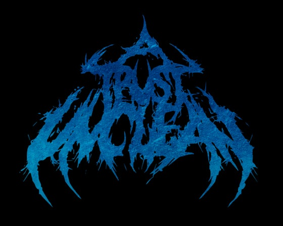 Image of T-Shirt - A Trust Unclean Logo (Blue)