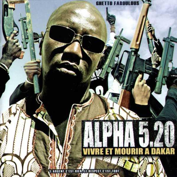 "Image of ALPHA 5.20 CD ""VIVRE ET MOURIR A DAKAR"
