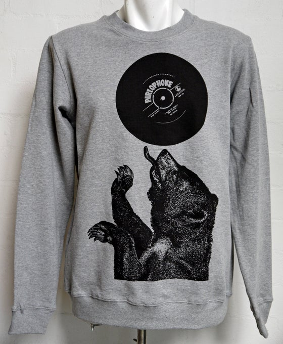 Image of A Taste Of Honey Crew- Grey Marl