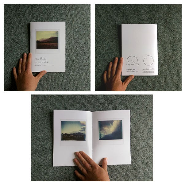 Image of 'an island of solitude' // artist book