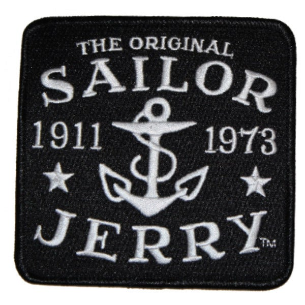 Image of Sailor Jerry Original Logo Patch