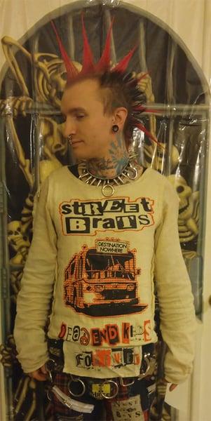 Image of Street Brats gauze bondage shirt