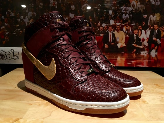 "Image of Nike WMNS Dunk Sky Hi City FW ""Milan"""