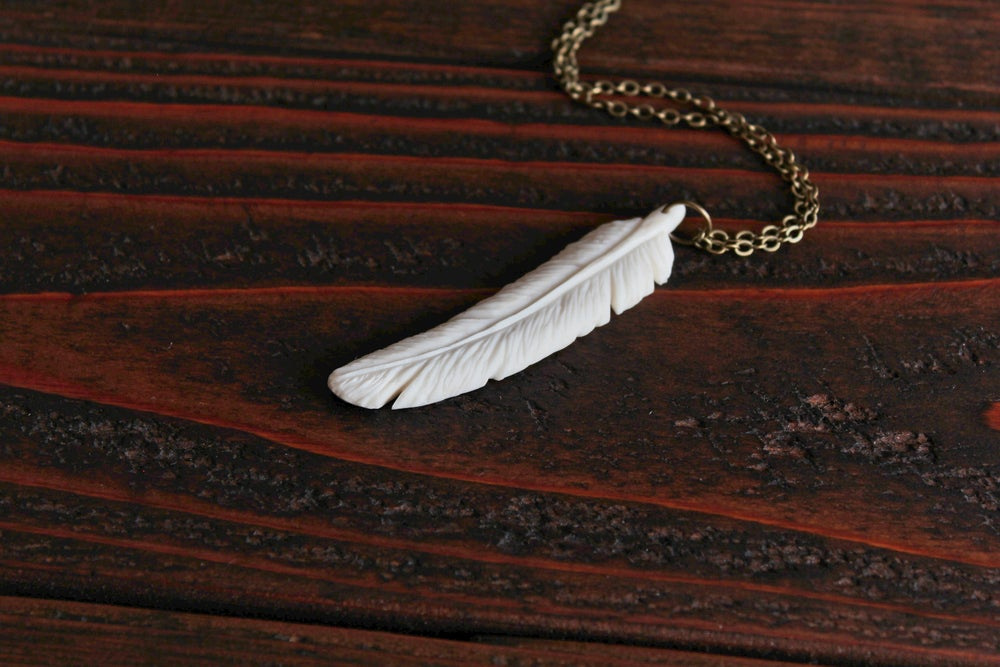 Image of Feather Tine Pendant