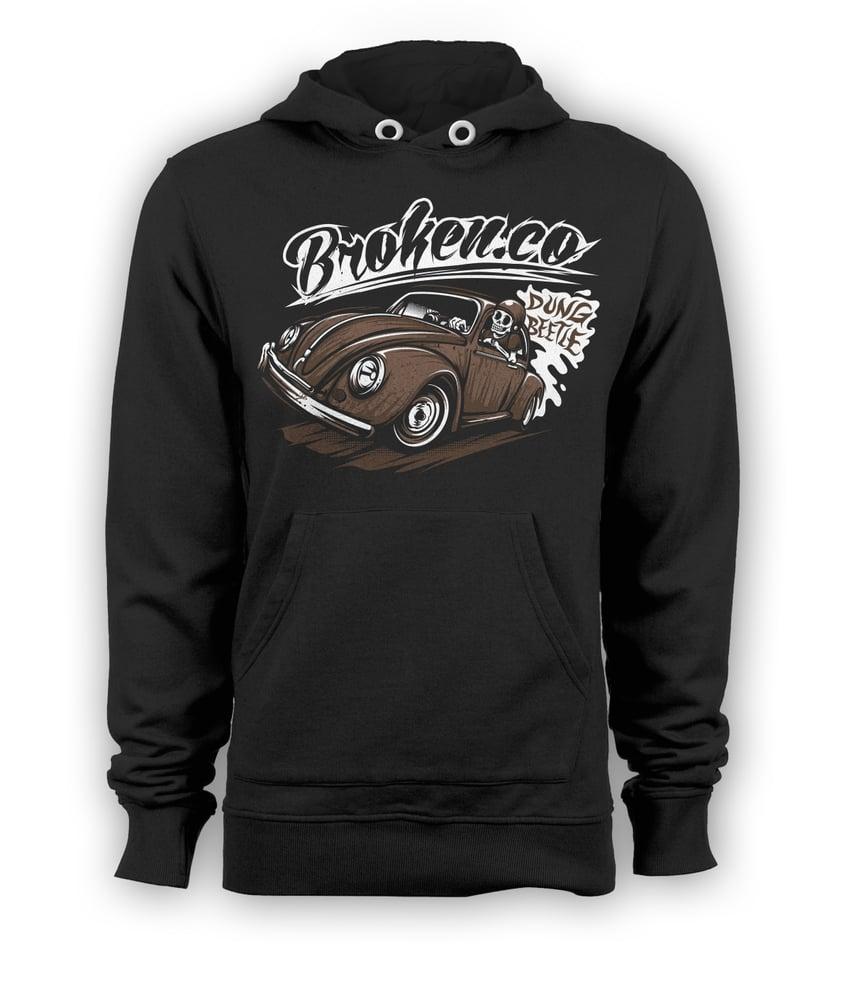 Image of Dung beetle hoodie
