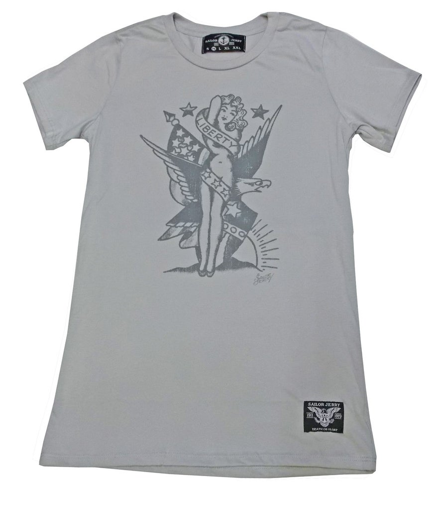 Image of Sailor Jerry Women's Tee - Lady Liberty