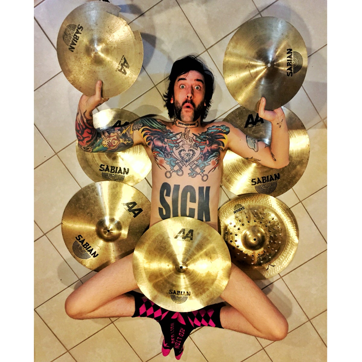 Image of Cymbals signed by Joe Letz