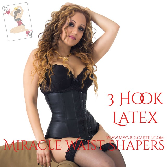 c64a3ca5a3 MWS 3 Hook Latex Waist Trainer   Miracle Waist Shapers