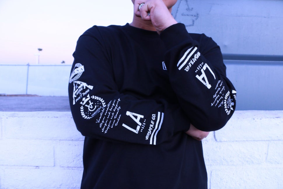 Image of VER$A Long Sleeve (black)
