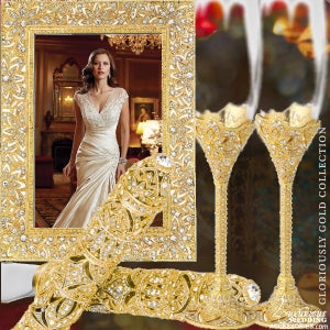 Image of Gold Wedding & 50th Anniversary Gloriously Gold Collection