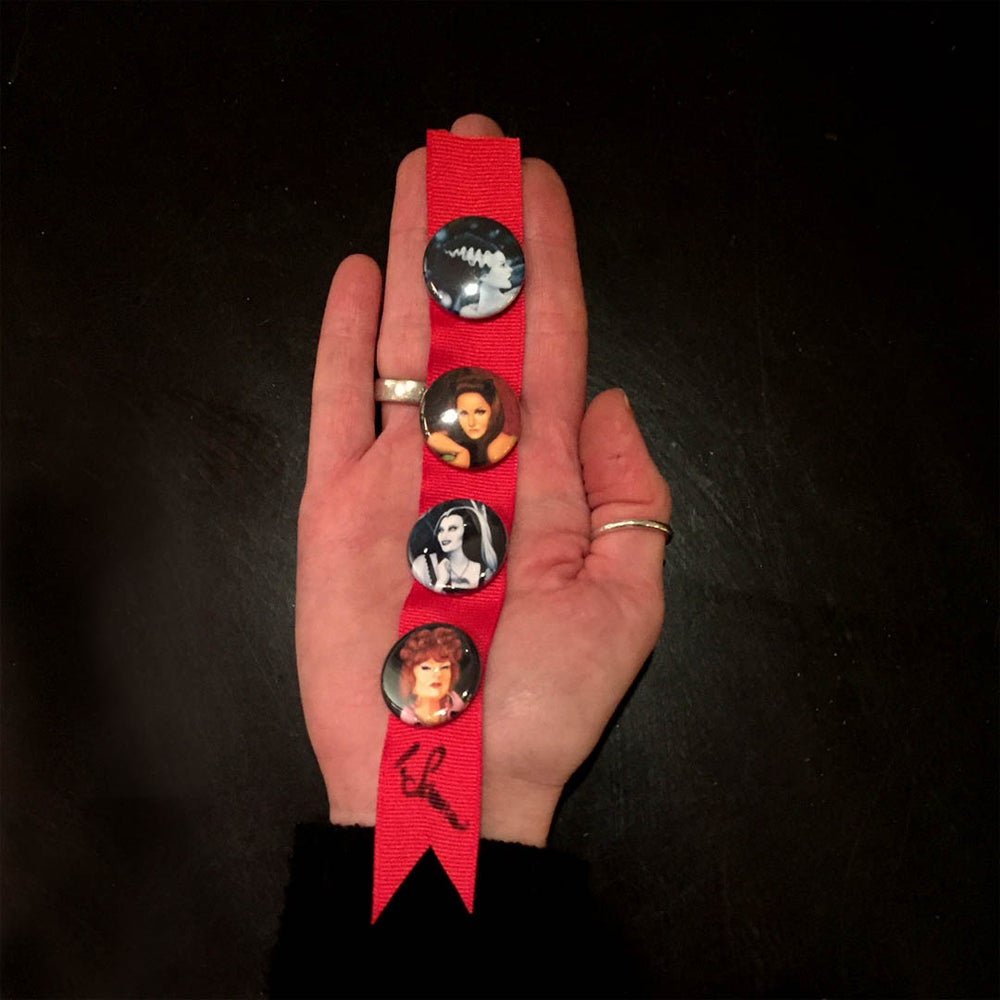 "Image of ""Dark Ladies"" Limited Edition Button Set"