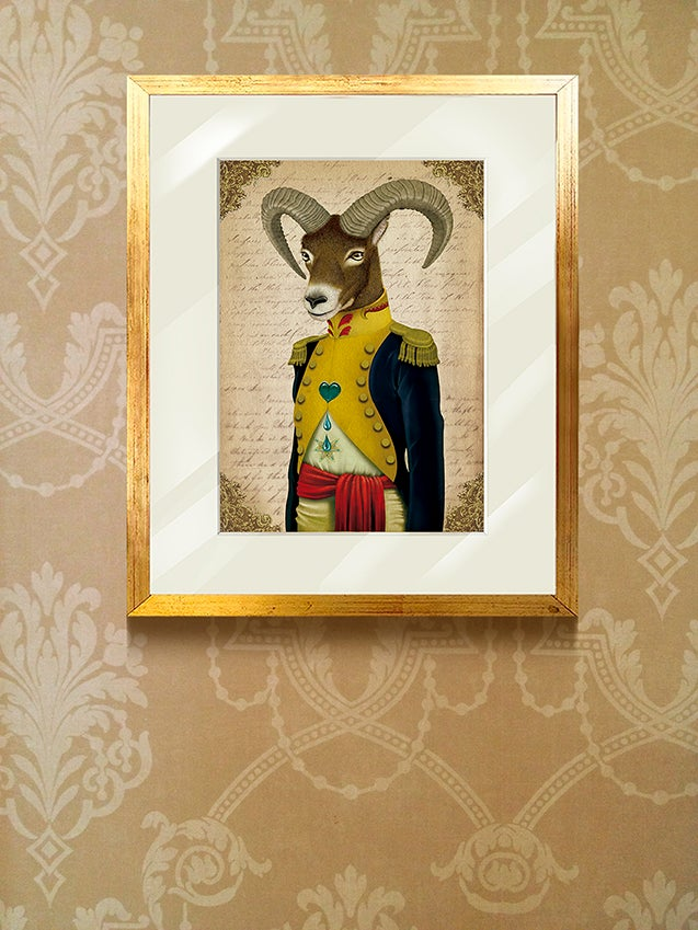 Image of Malcom the Bighorn sheep / cuadro