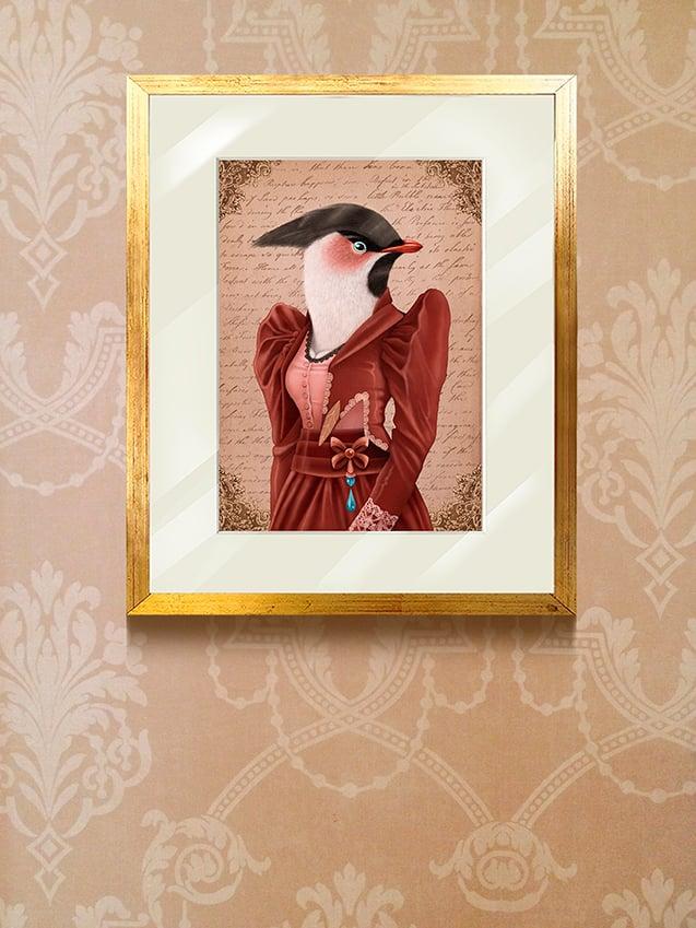 Image of Greta the bird / cuadro