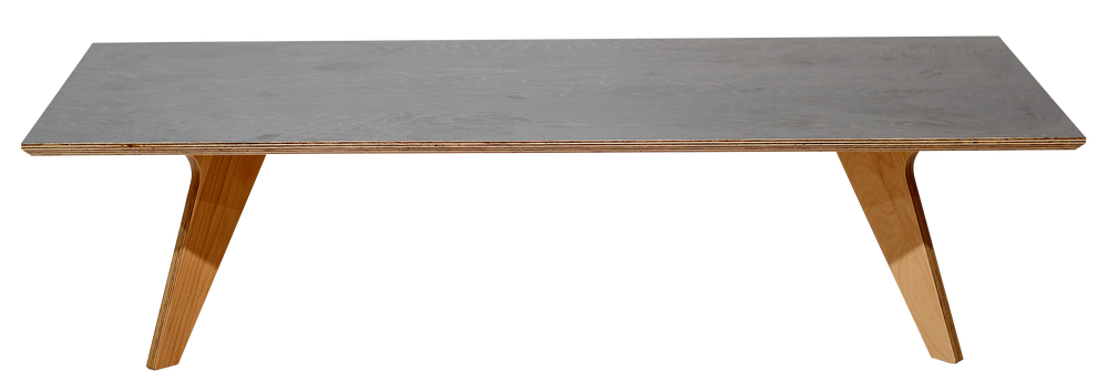 Image of Black coffee table