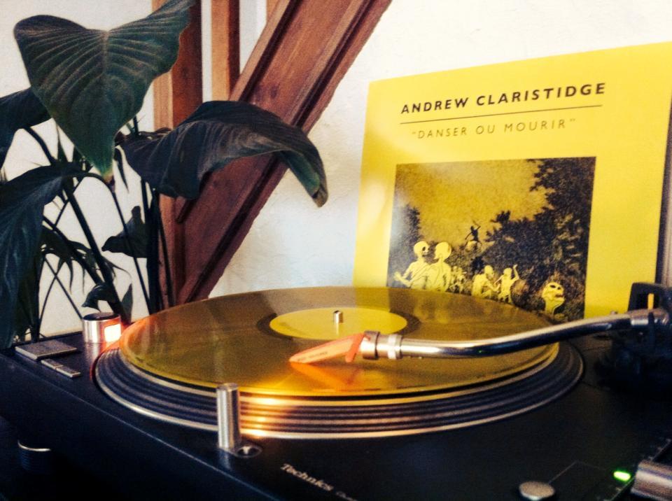 Image of Andrew Claristidge - Danser ou Mourir (Limited Vinyl Edition)