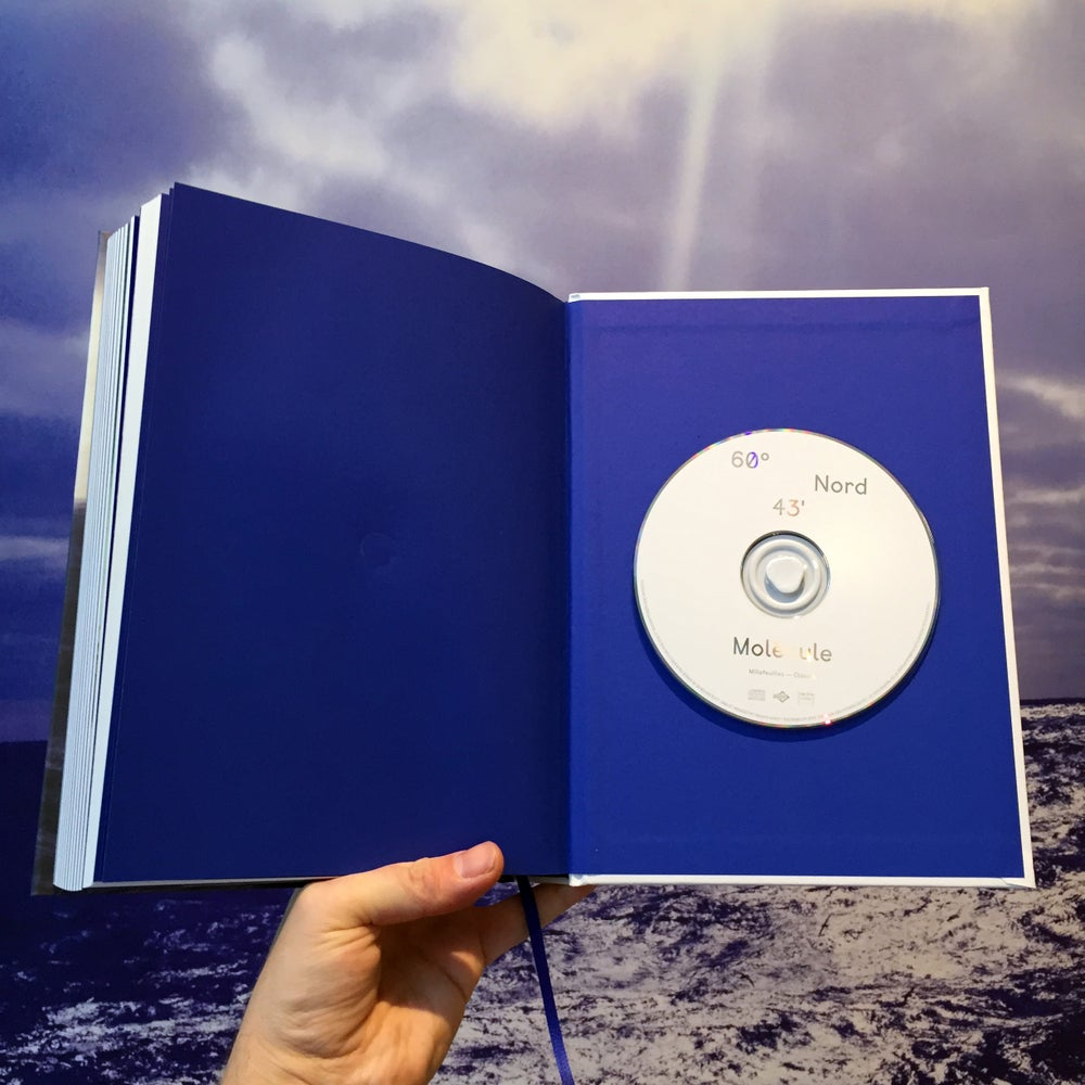 Image of Molécule - 60°43' Nord (Book + CD Album Insert)