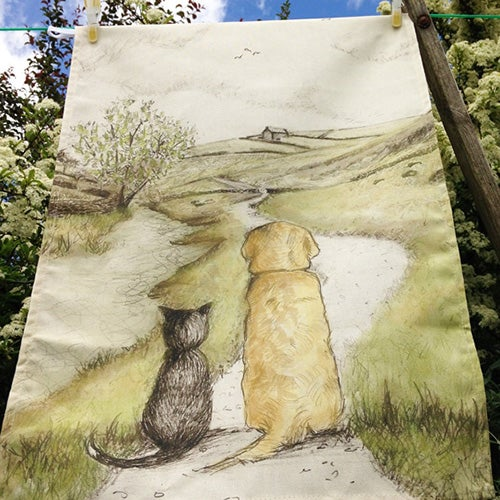 Image of Teatowels by Rebecca Carr
