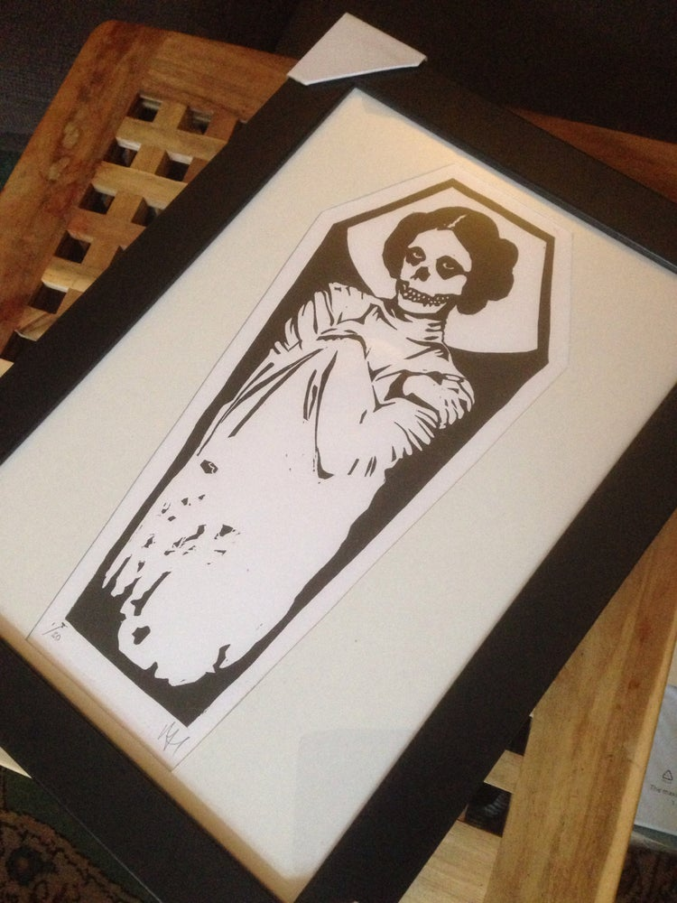 Image of Leia ghost