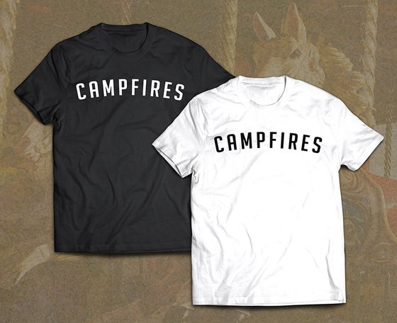 Image of CAMPFIRES LOGO TEE