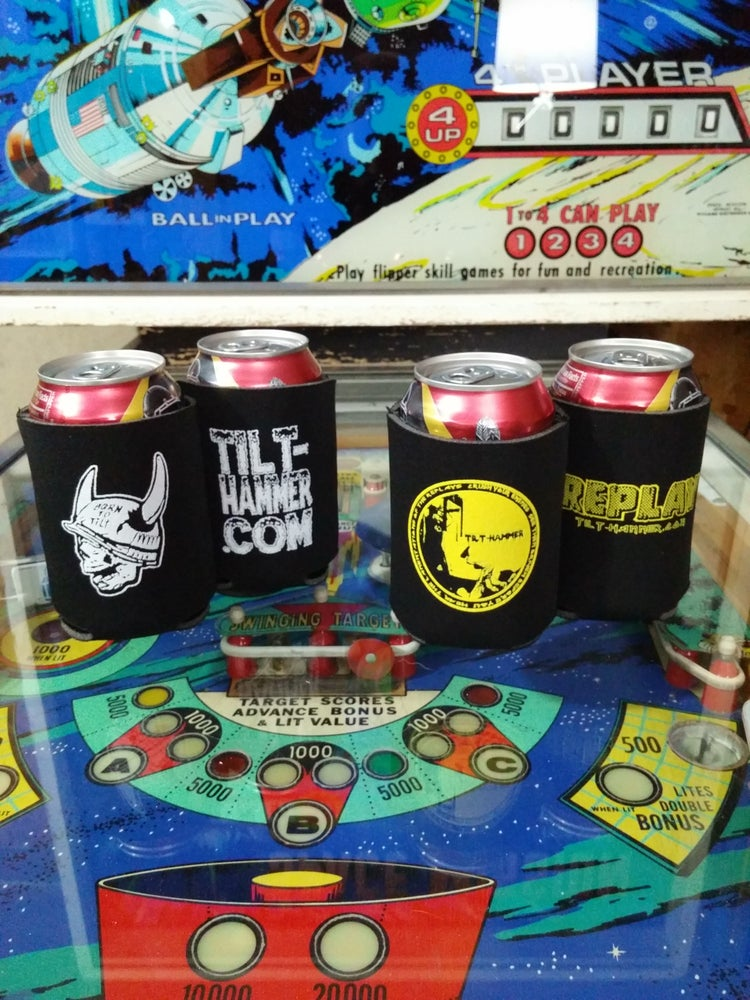 Image of Tilt-Hammer Beer Koozie Pack