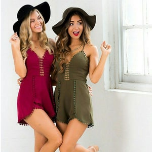 Image of FASHION CUTE ROMPER JUMPSUIT