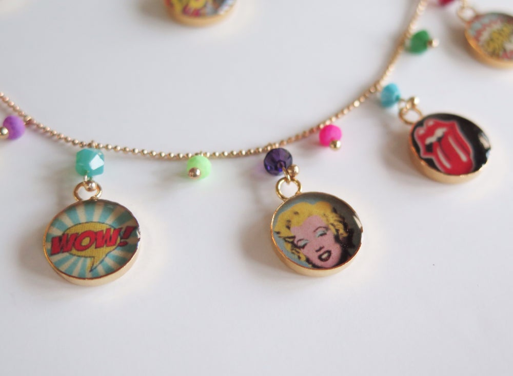 Image of Pop Art Necklace