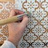 Medina Furniture Stencil for Furniture, Wall and Fabric Projects-Moroccan stencil-DIY