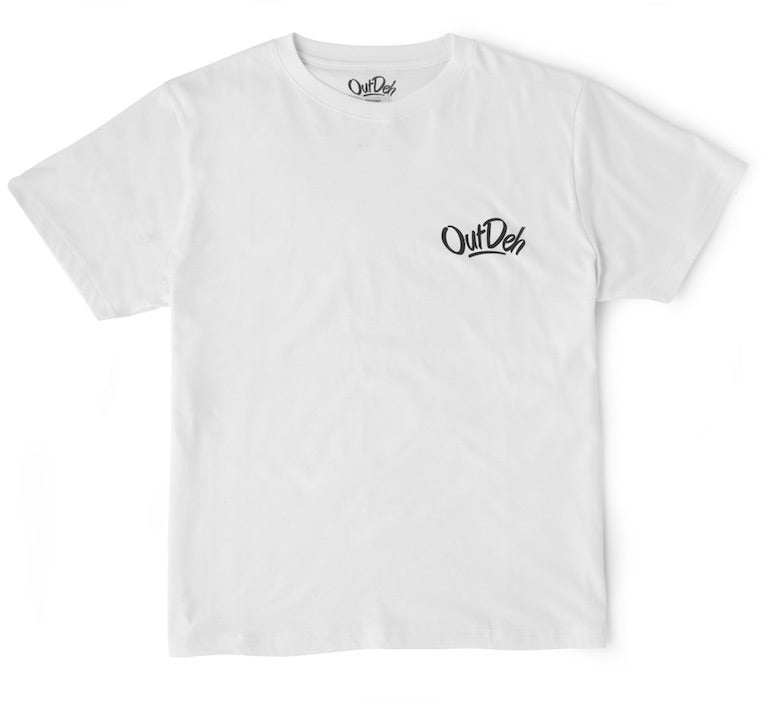 Image of Mini Logo T-Shirt (White/Black Logo)