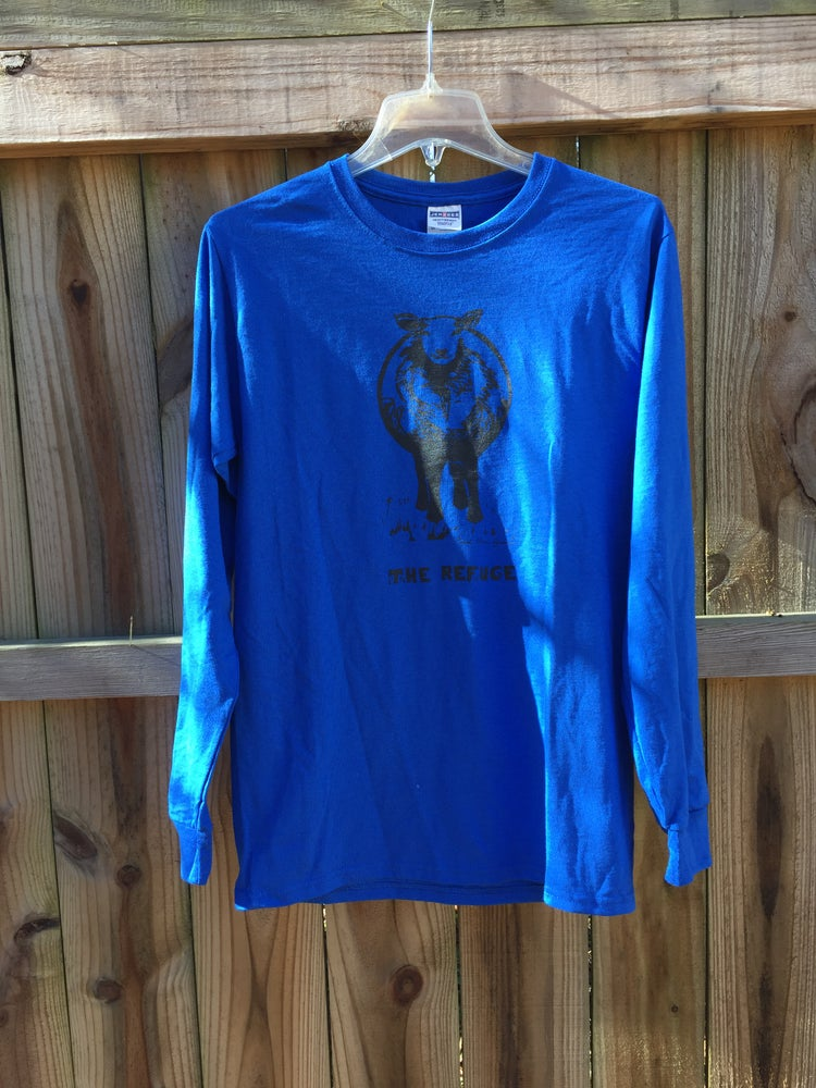 Image of Men | long sleeve, royal blue, sheep logo