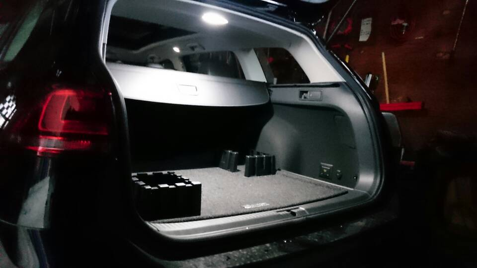 Image of Entire Trunk Housing for Volkswagen GTI/Golf/Passat/CC/EOS Bright Error Free Plug and Play