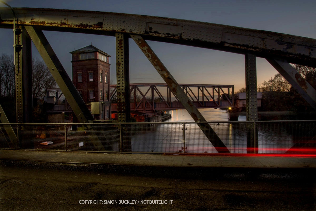 Image of BARTON BRIDGE, 7.15AM