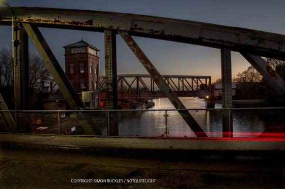 Image of BARTON BRIDGE, 7.15AM