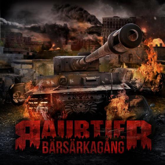 Image of Raubtier - Bärsärkagång (Black LP)