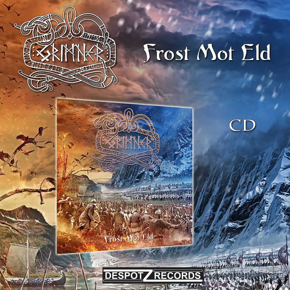 Image of Grimner - Frost Mot Eld (CD)