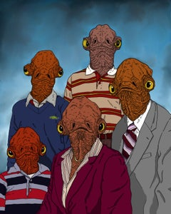 Image of 'Ackbar Family Portrait' Print