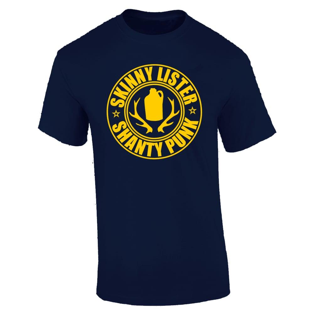 Image of Navy Shanty Punk T-shirt