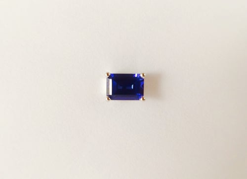 Image of Emerald Cut Earring Stud Set