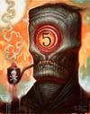 "Pipe Dream- Canvas Giclee 11x14"""