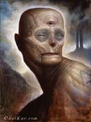 "Image of Shamanic Tendencies- Canvas Giclee 11x14"""