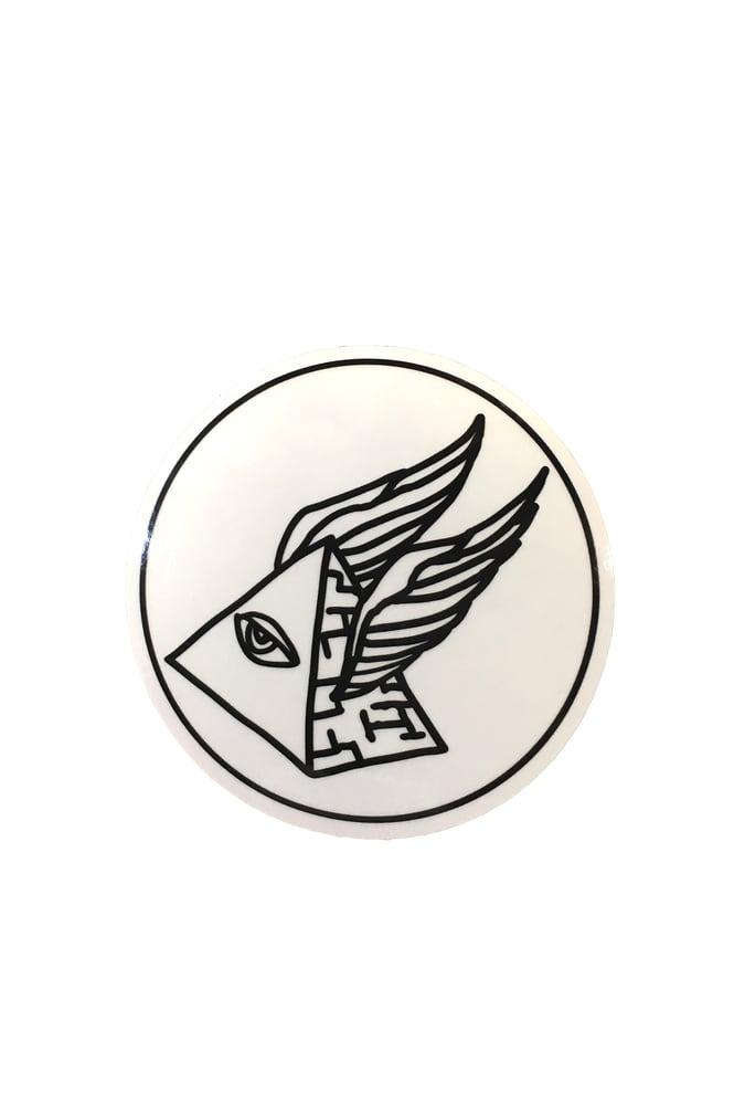 Crows Auto Sales >> Circle Pyramid Sticker — Stoke Factory