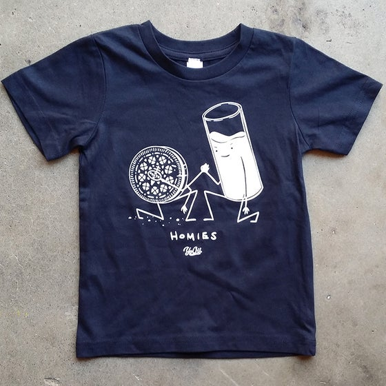 Image of 'Homies' t-shirt (navy)