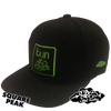 ibun cheese limited edition snapback hat (only 25 square / 25 circle peak made)