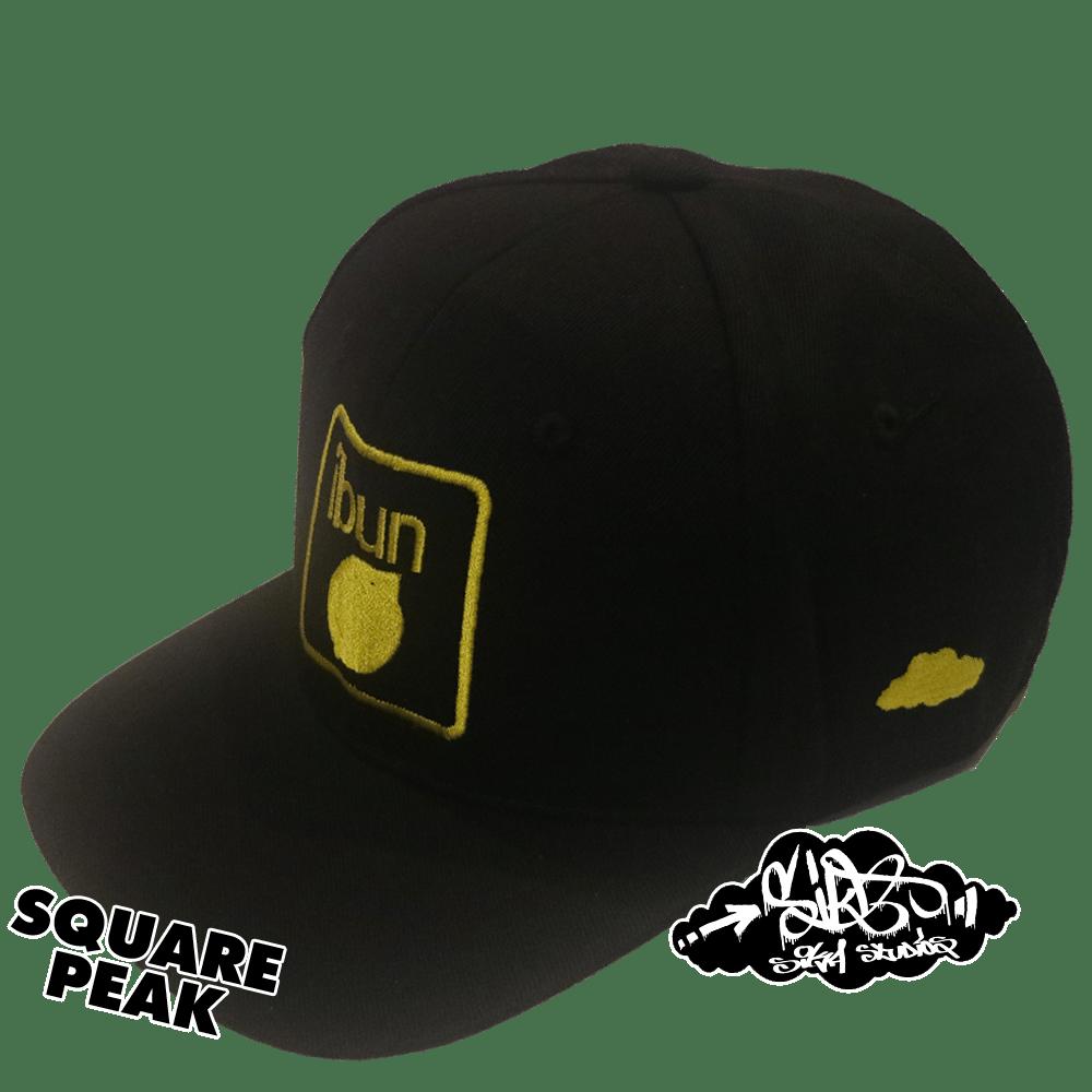 ibun lemon limited edition snapback hat (only 25 square peak / 25 round peak made)