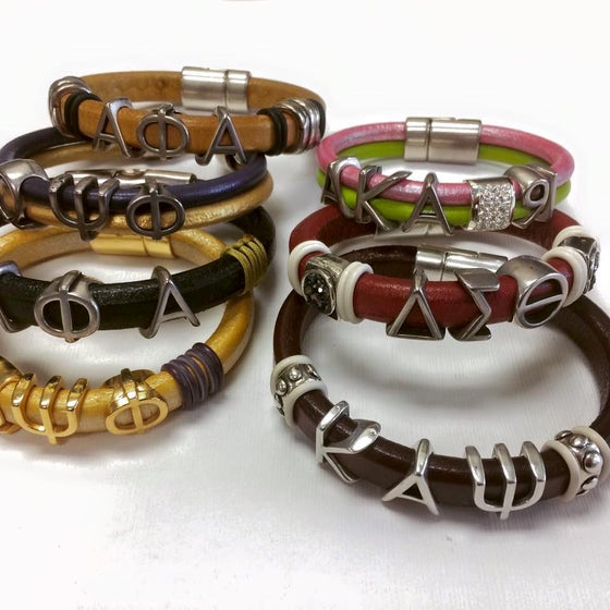 Image of Custom Bracelets - DO NOT PURCHASE HERE - Contact Me To Order & For Pricing...